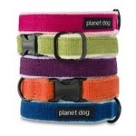 Hondenhalsband van Planet Dog in 5 kleuren