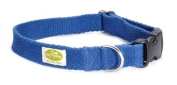 Halsband (Earth Dog): blauw