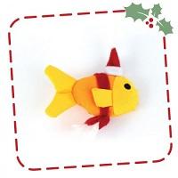 Kerstknuffel voor de kat: Freddie de Vis