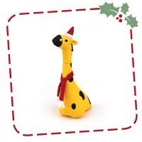 Kerstknuffel voor de hond: George de Giraffe