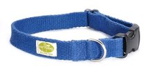 Earth Dog halsband hennep blueberry blauw