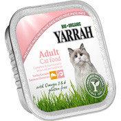 Yarrah biologische kattenpaté met zalm en zeewier