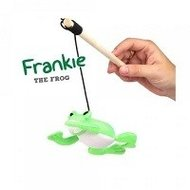 Speelhengel met kattenknuffel Frankie de Kikker van Becothings