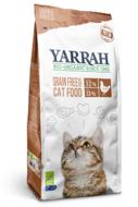 Yarrah graanvrije Kattenbrokjes met kip en vis biologisch