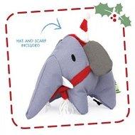 Estella de kerst-olifant, hondenspeeltje